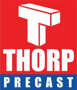 Thorp precast logo
