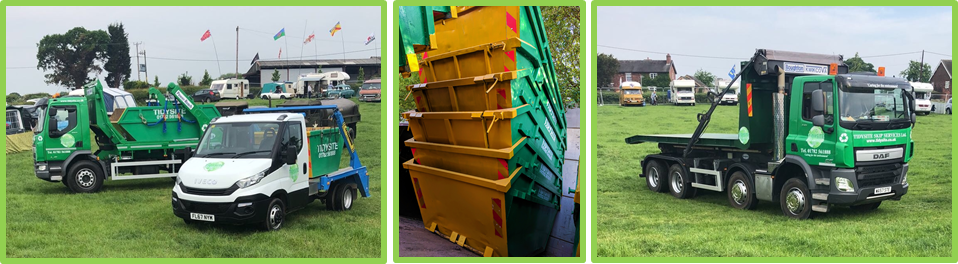 we are equipped to handle all sorts of waste disposal jobs