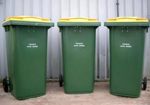 Wheelie bins for commercial trade waste