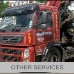 other waste management services