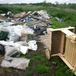dumped waste