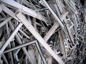 We recycle UPVC window frames